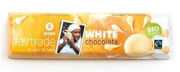 Baton czekolada biała fair trade BIO 50 g