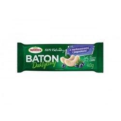 Baton daktylowy z nerkowcami i jagodą 40 g