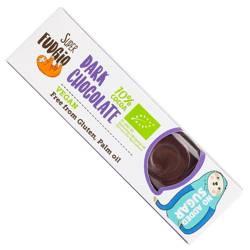 Baton gorzka czekolada bezglutenowy BIO 40 g  (super fudgio)