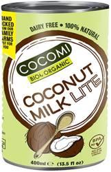 Coconut milk - napój kokosowy light w puszce (9 % tłuszczu) BIO 400 ml