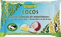 Czekolada biała z wiórkami kokosowymi BIO 100 g