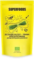 Jęczmień młody - trawa sproszkowana BIO 125 g