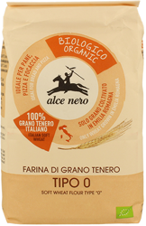 Mąka pszenna typ 0 na pizzę BIO 1 kg