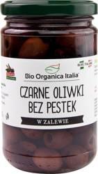 Oliwki czarne bez pestek w zalewie BIO 280 g (160 g) (słoik)