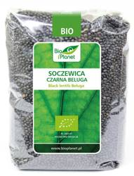 Soczewica czarna beluga BIO 1 kg