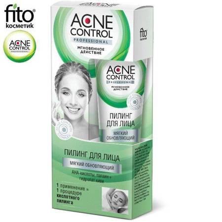 Acne Control Peeling do twarzy Miękki odnawiający, 45ml - Fitokosmetik