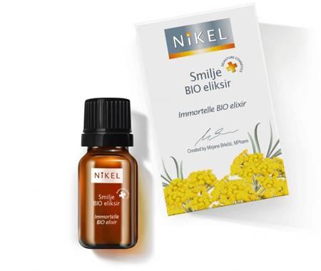Antyoksydacyjny eliksir 100% naturalny z wyci? giem z kwiatu Immortelle, 10ml