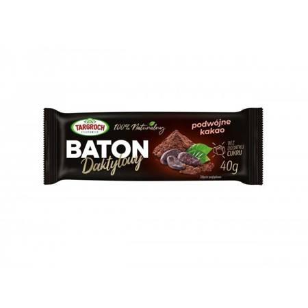 Baton daktylowy podwójne kakao 40 g - PREMIUM