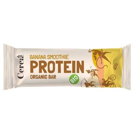 Baton proteinowy - Bananowe smoothie Cerea BIO, 45