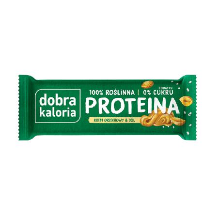 Baton proteinowy Krem orzechowy & Sól 45 g