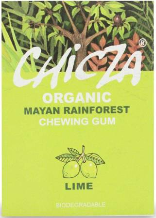 Biodegradowalna guma do żucia limonka BIO 30 g