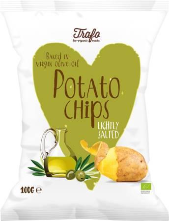 Chipsy ziemniaczane smażone na oliwie z oliwek BIO 100 g
