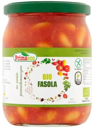 Fasola w sosie pomidorowym bezglutenowa BIO 440 g