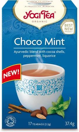 Herbatka z kakao i miętą (choco mint) BIO (17 x 2,2 g) 37,4 g