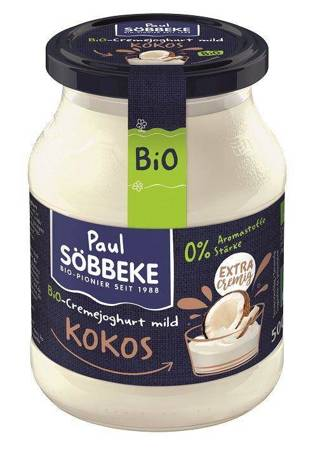 Jogurt kokosowy (7,5 % tłuszczu w mleku) BIO 500 g (słoik)