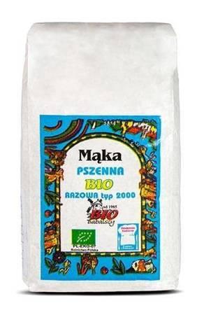 Mąka pszenna razowa typ 2000 BIO 1000 g