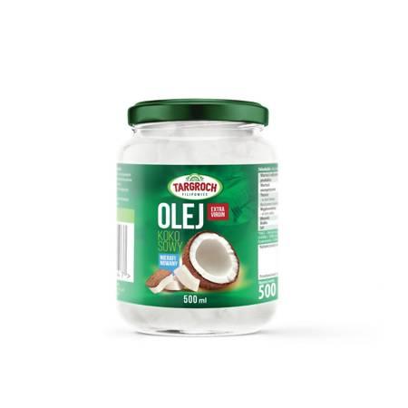 Olej Kokosowy Nierafinowany Exstra 500 ml