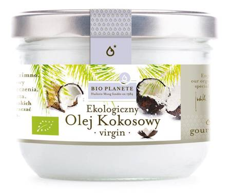 Olej kokosowy virgin BIO 200 ml