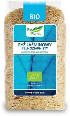Ryż jaśminowy pełnoziarnisty BIO 500 g